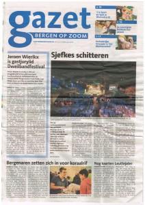 Gazet Bergen op Zoom - Bergenaren zetten zich in voor koraalrif