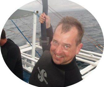Volunteer CoralGardening Arjan Blaauw
