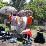 CoralGardening ontvangt donatie van Marcel (KevMic-Diving), Michael en Ruud
