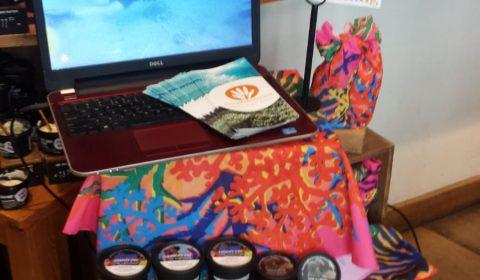 Presentatie over CoralGardening in Lush winkel Den Bosch