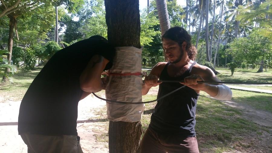 Bending rebar for a CoralFlower