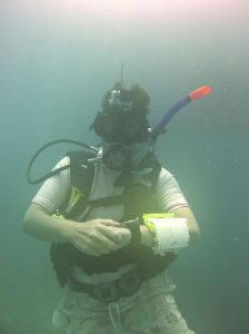 Vera diving corrected picture