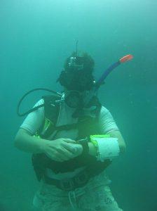 Vera diving uncorrected picture
