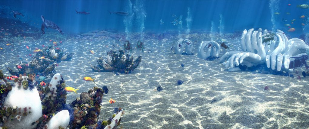 Artist impression from our dream: the CoralGarden
