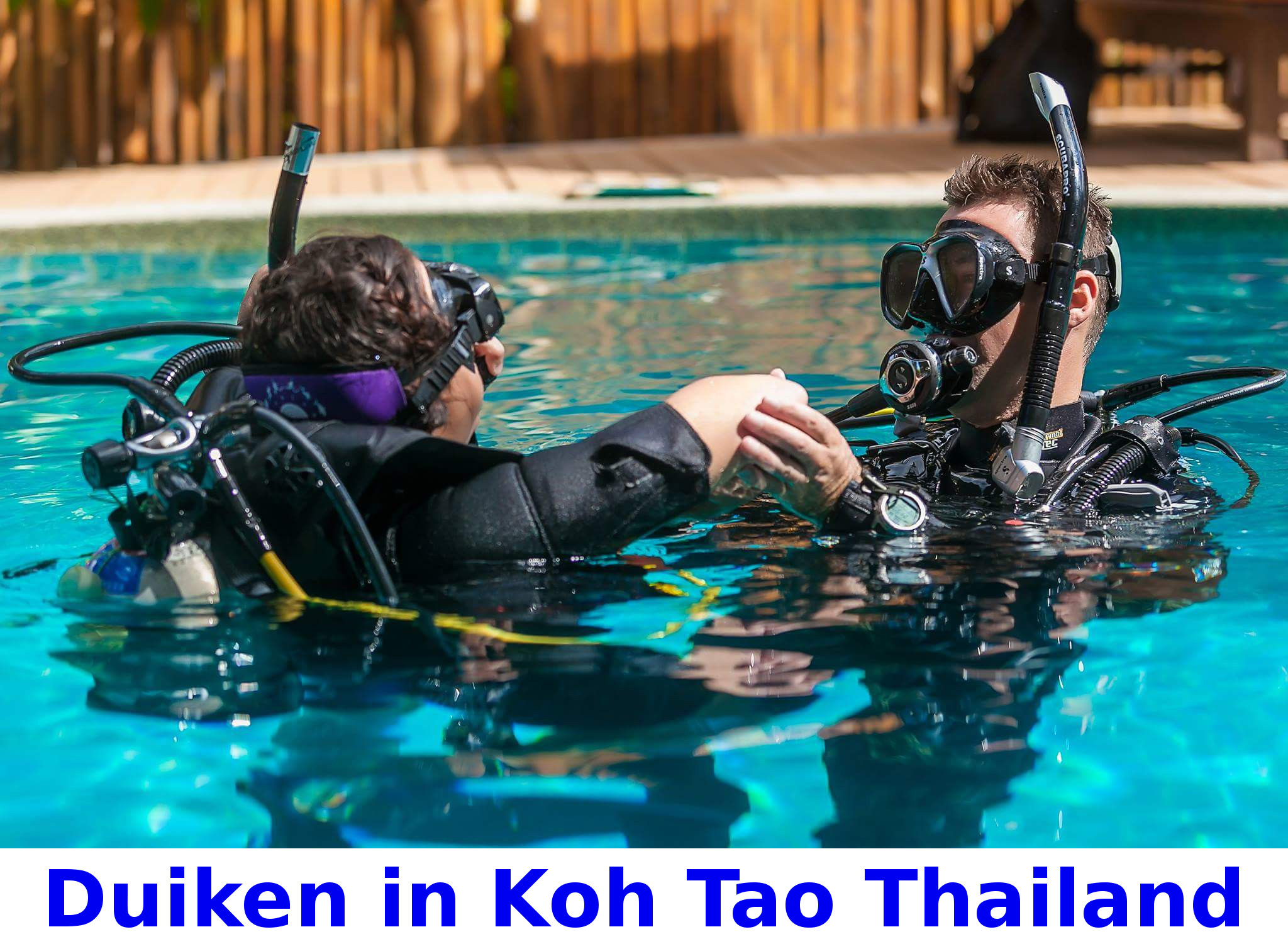 Duiken in Koh Tao Thailand
