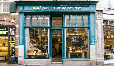 The Lush shop in Den Bosch