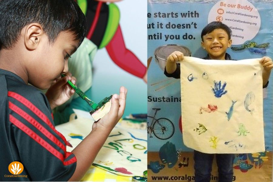 Make your own reusable bag to save the ocean.